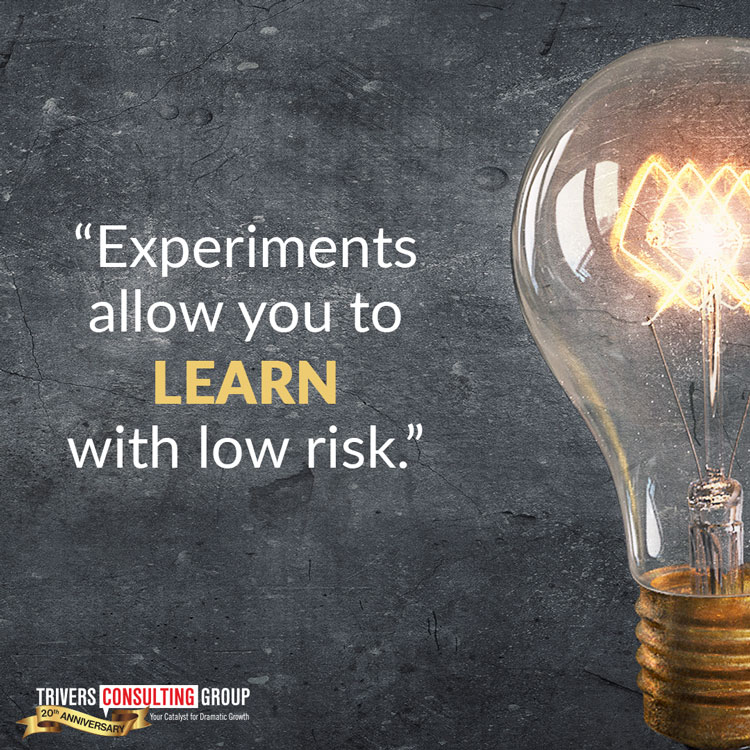 Experiments learn you