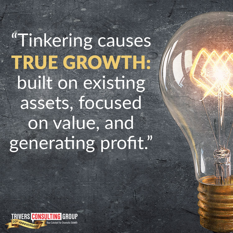Tinkering causes