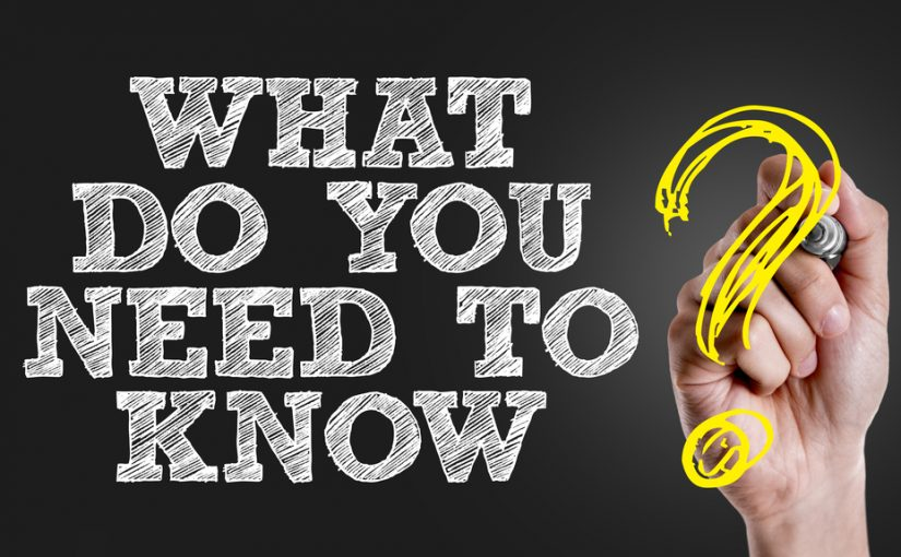 Can You Ever Know All You Need to Know?