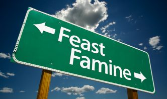 feast and famine revenue