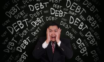 negative cash flow is debt of your own making