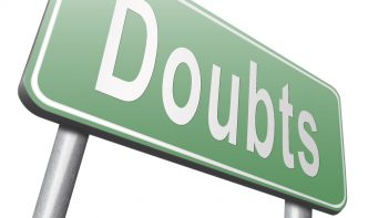 doubts or cold feet